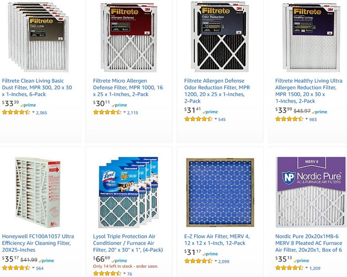 Home Air Filters - Filter More DUST!