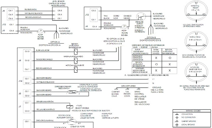Frigidaire Affinity Washer Electrical Schematic 1