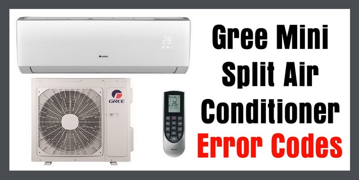 gree mini split air conditioner error codes removeandreplace com rh removeandreplace com
