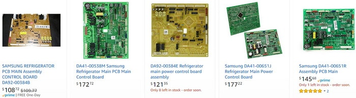 Samsung Refrigerator Electronic Control Boards RB SERIES