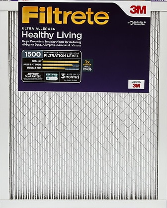 Ultra Allergen Reduction Home Air Filter