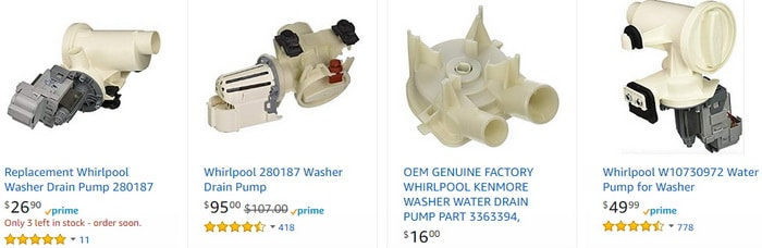 Whirlpool Washer Drain Pump Replacement