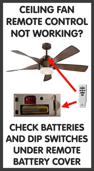 Ceiling Fan Remote Control Replacements on