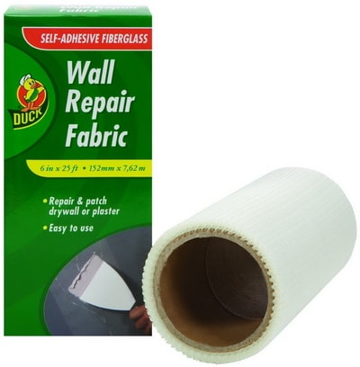 Duck Brand 282084 Self-Adhesive Drywall Repair Fabric