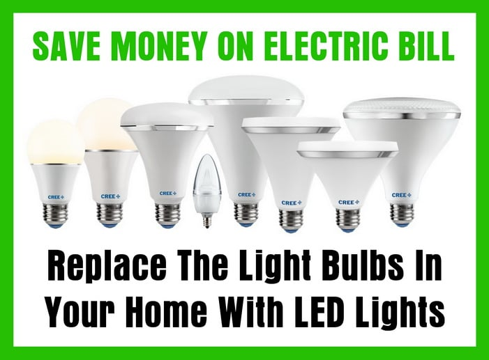 Replace The Light Bulbs In Your Home With LED Lights