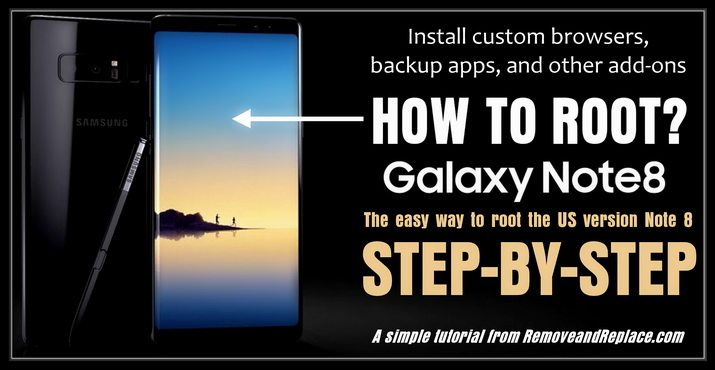 How TO Root Samsung Note 8