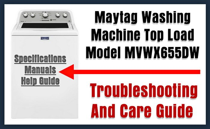 Maytag Large Capacity Washer MVWX655DW