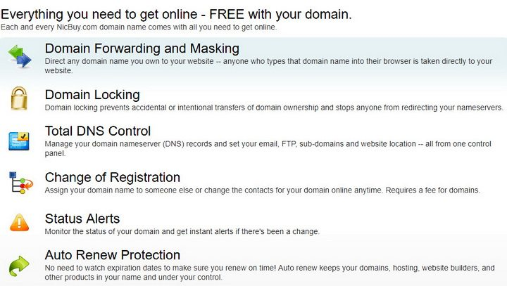 NicBuy.com Domain Search Advanced Domain Name Search Tool