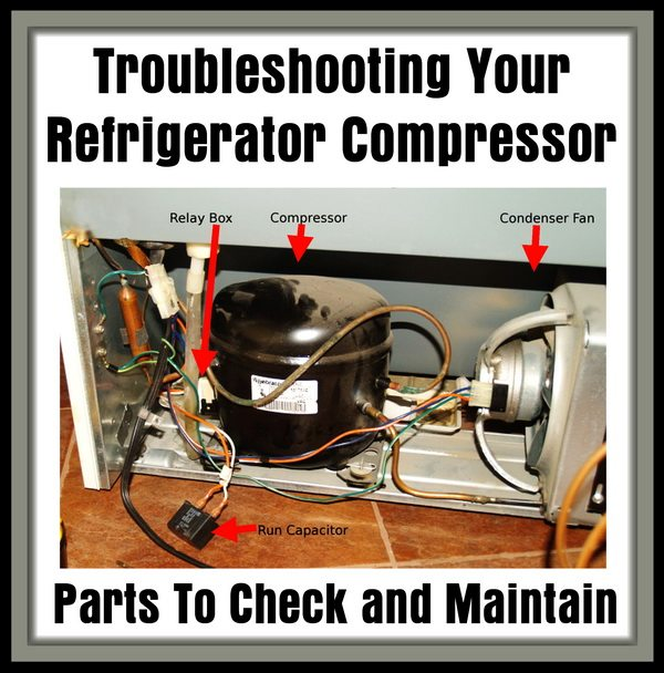 Getting your refrigerator to run without a start relay