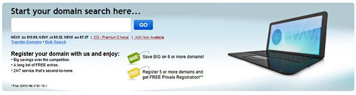 find a domain name cheap