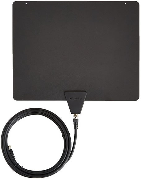 AmazonBasics Ultra Thin Indoor TV Antenna