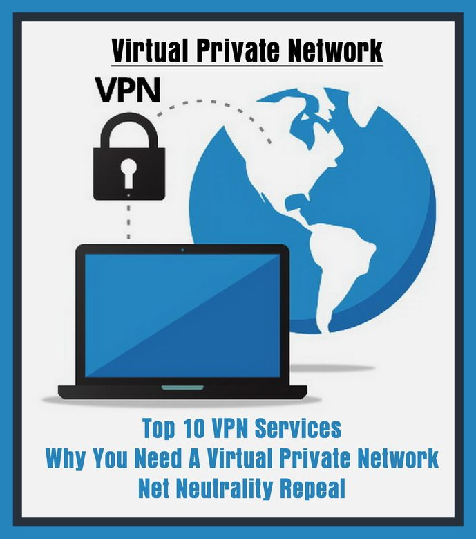 Top 10 VPN Services - Net Neutrality Repeal - Protect Yourself