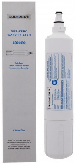 4204490 Sub Zero Refrigerator Replacement Water Filter Cartridge