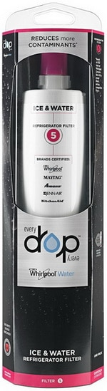 EveryDrop by Whirlpool Refrigerator Water Filter 5