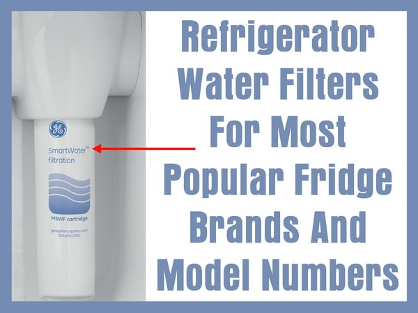 Replace refrigerator water filters