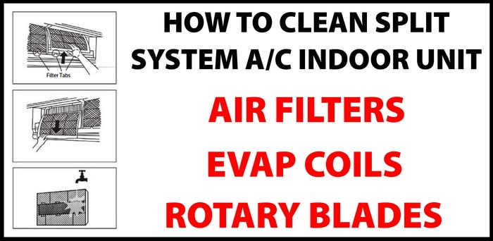 How To Clean Wall Mounted Split System Air Conditioner - Air ... Ge Wall Mount Heat Pump Schematic Diagram on