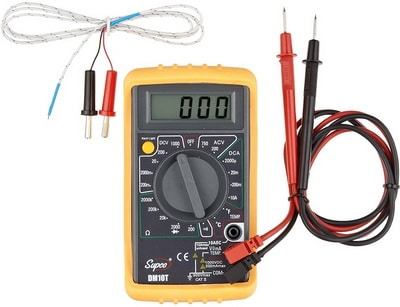Digital Multimeter To Test Electric Dryer Parts