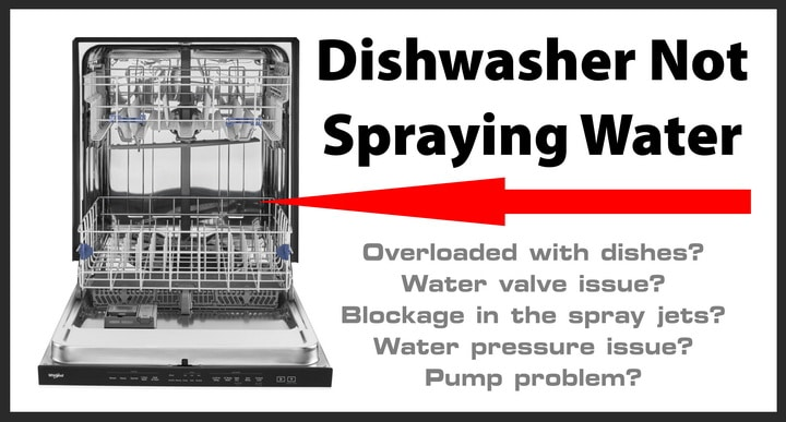 Dishwasher Not Spraying Water - How To Repair