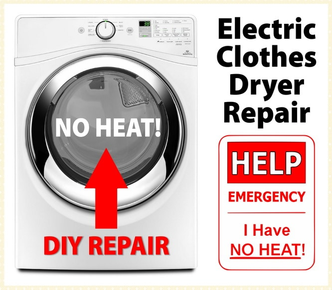 Electric Dryer Not Getting Hot - How To Troubleshoot