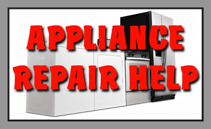 Appliance Repair Help and Assistance
