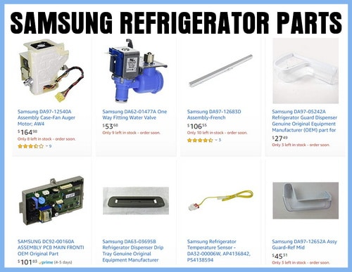 Parts for Samsung Refrigerators