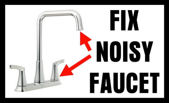 noisy faucet makes hammering sound