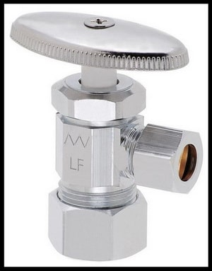 water valve to faucet