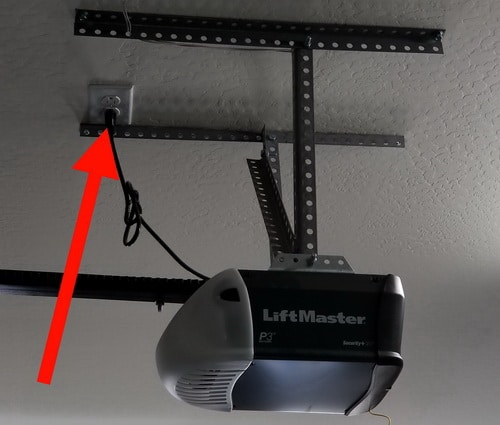 Unplug Garage Door Opener For Security