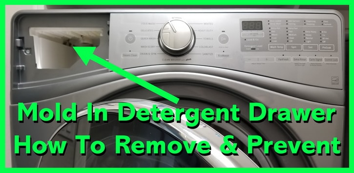 How To Clean The Inside Of Washing Machine Drawer