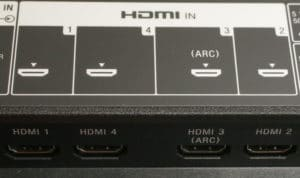 HDMI ports - Switch ports if TV screen goes black