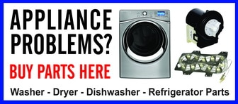 Appliance Repair Parts For All Major Brands Of Appliances