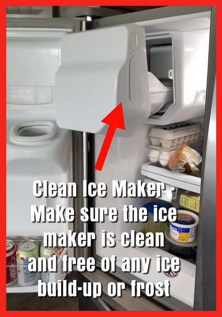 Clean Ice Maker