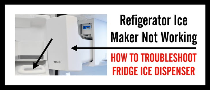 Refrigerator Ice Maker Not Working 1