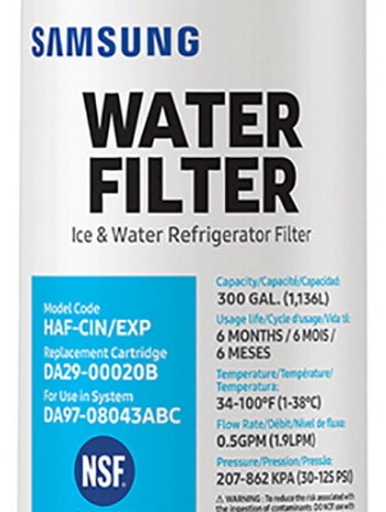 Replacement Water Filter For Samsung Refrigerator