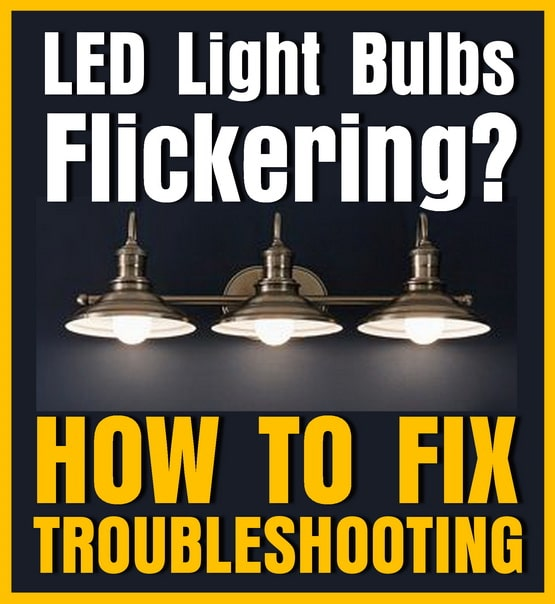 Fix LED lights flickering