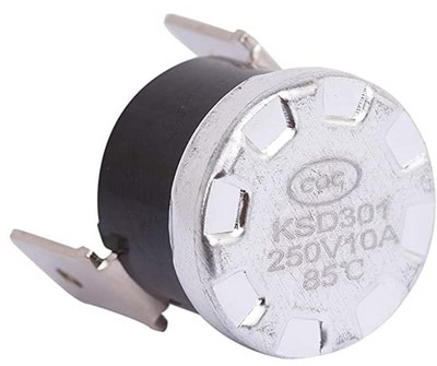 High Limit Thermostat for Whirlpool Kenmore Dishwashers