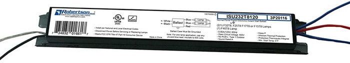 Ballast for fluorescent light fixture