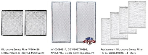 Microwave Grease Vent Filters