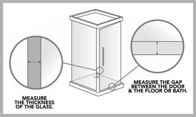 How To Buy The Right Size Shower Door Seal
