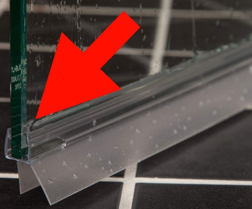 Shower Door Seal - Remove and Replace