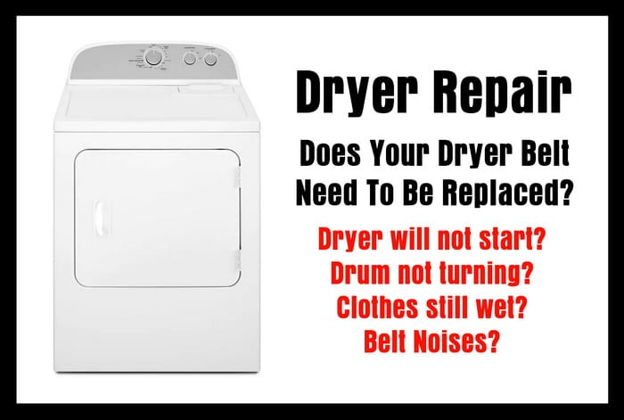 Dryer Repair - Does Your Dryer Belt Need To Be Replaced