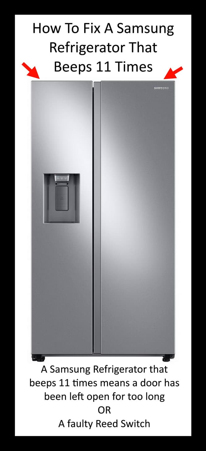 How To Fix A Samsung Refrigerator That Beeps
