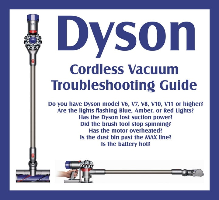Dyson Vacuum Troubleshooting - Tips and Tricks