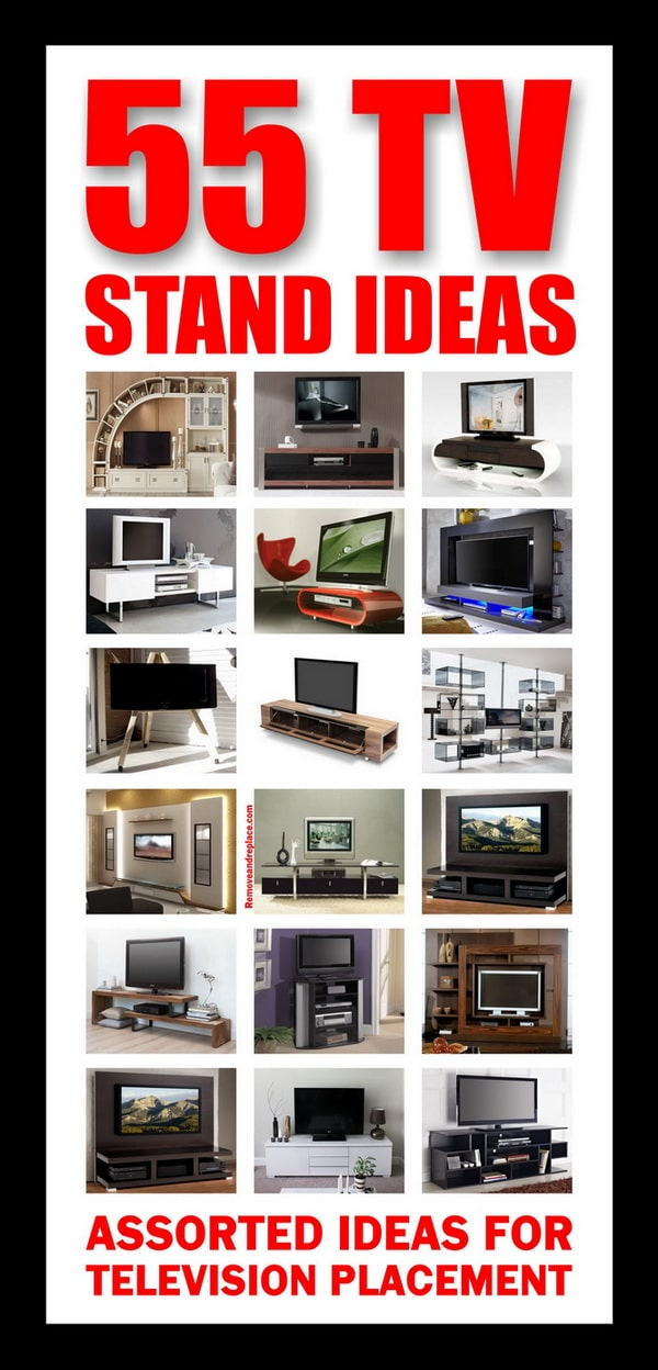 55 TV Stand Ideas