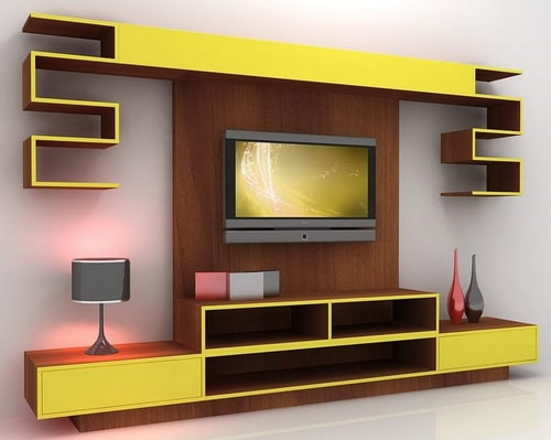 Yellow TV Stand Ideas