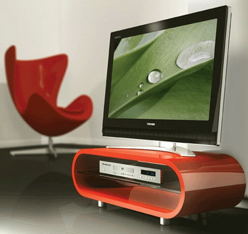 Red TV Stand Ideas