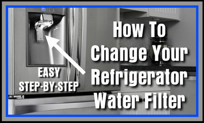 A Guide To Changing Your Refrigerator Water Filter