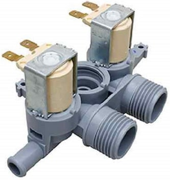 Water inlet valve for washer
