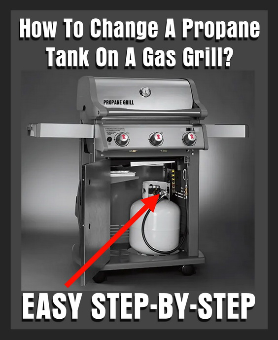 How To Change Remove And Replace A Propane Tank On A Gas Grill
