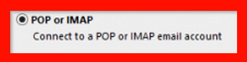 Use POP or IMAP with Cox email setup